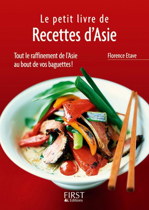 Florence ETAVE Petit livre de - Recettes d'Asie