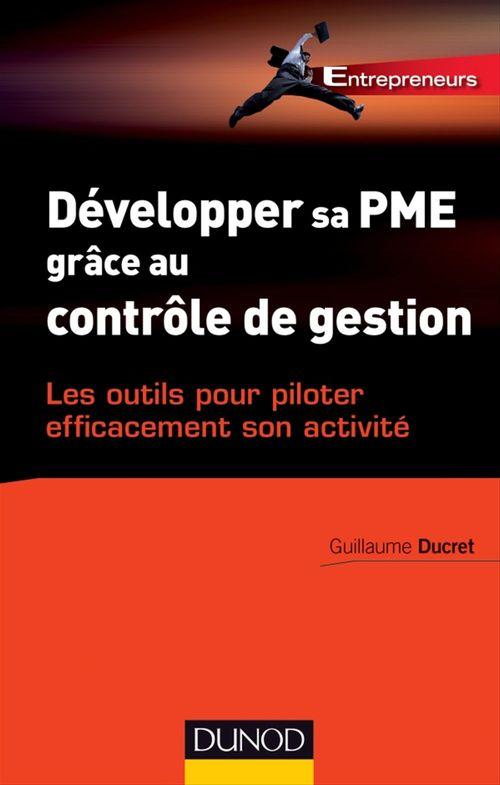 Guillaume Ducret Développer sa PME grâce au contrôle de gestion