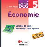 Bruno Gendron Les Carrés DCG 5 - Économie 2013-2014