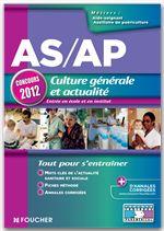 AS/AP Culture générale et actualité Concours 2012