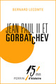 Jean-Paul II et Gorbatchev