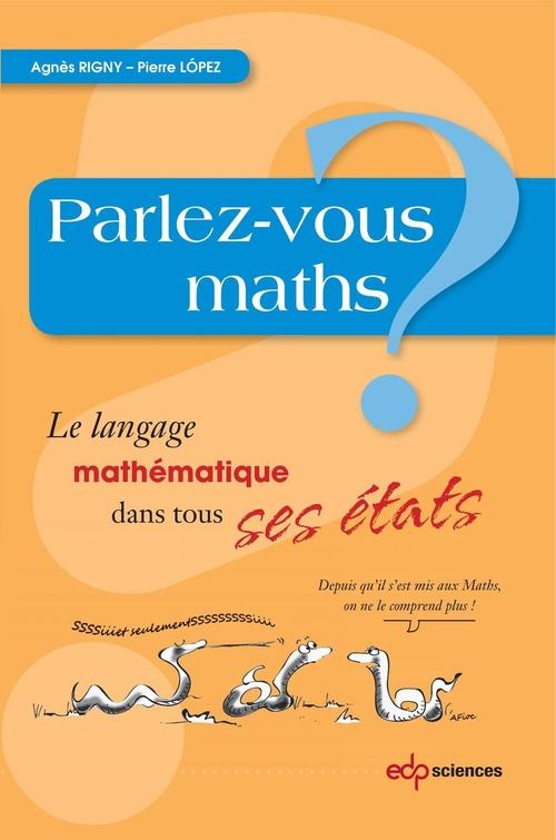 Agnès Rigny Parlez-vous maths?