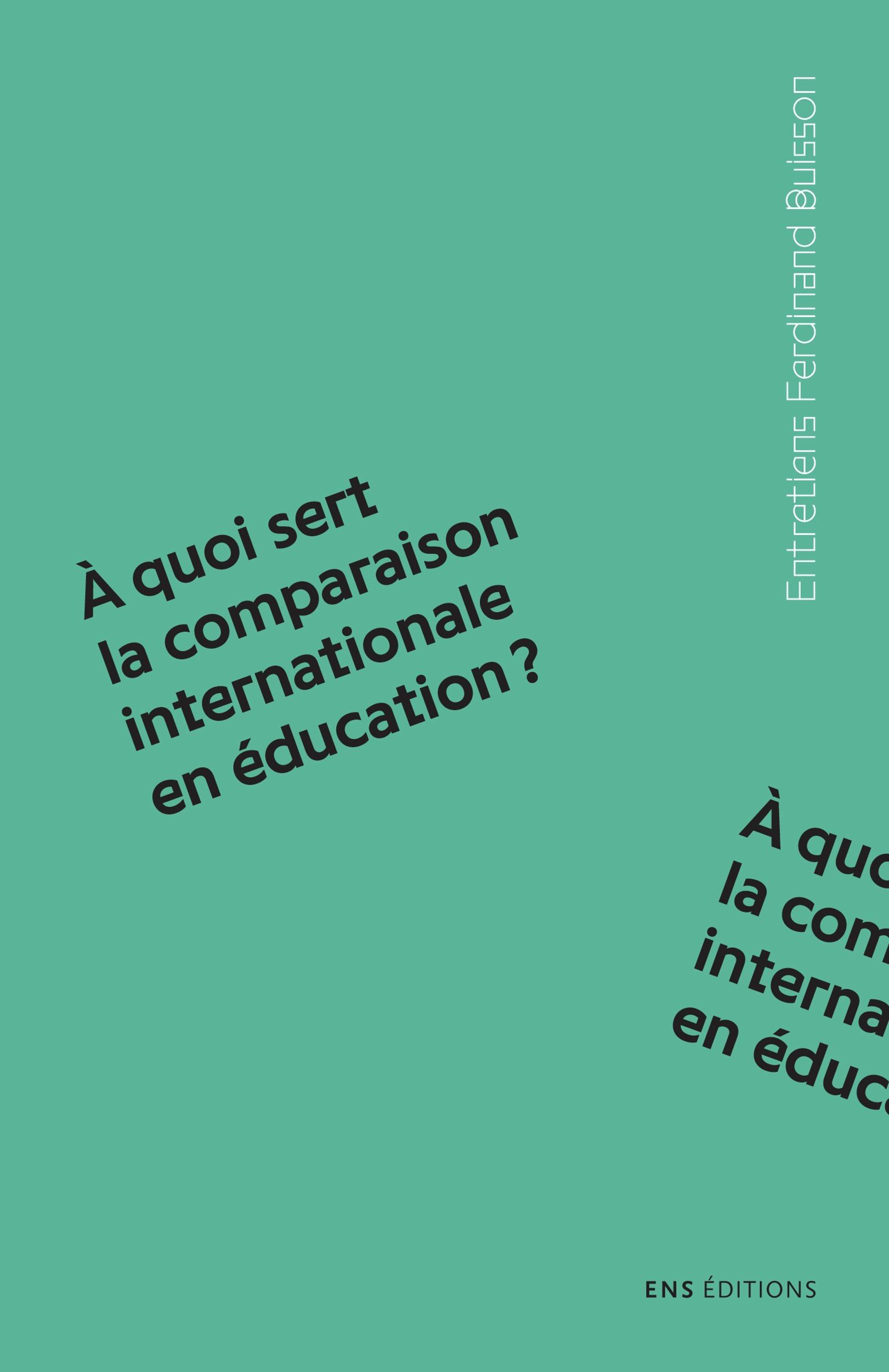 Olivier Rey À quoi sert la comparaison internationale en éducation?