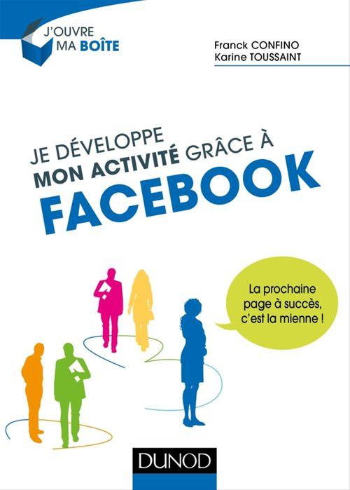 Franck Confino Je développe mon activité grâce à Facebook