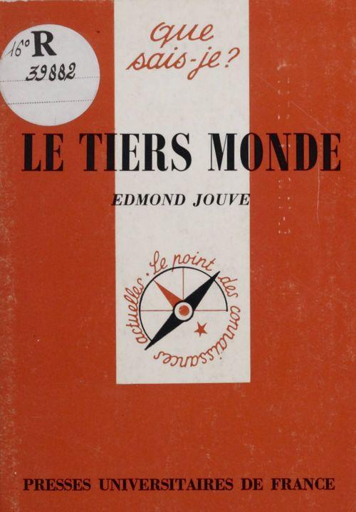 Edmond Jouve Le Tiers-monde