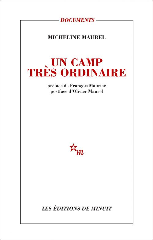 Micheline Maurel Un camp très ordinaire