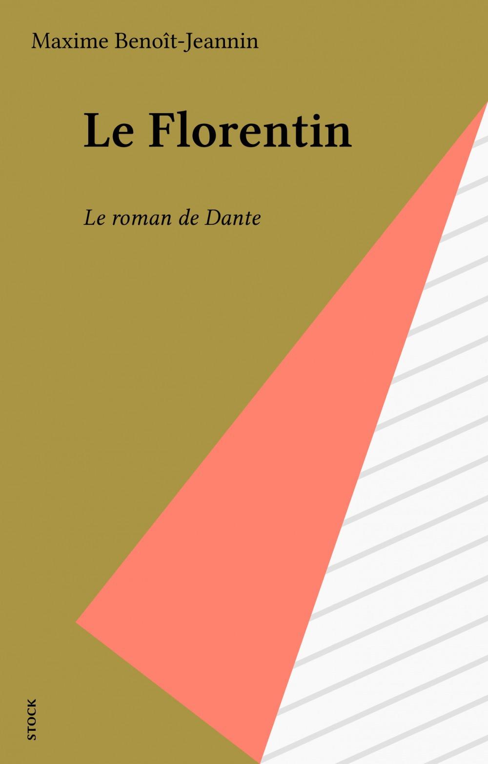 Maxime Benoît-Jeannin Le Florentin