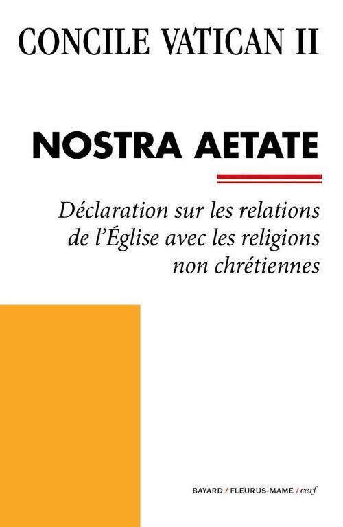 Concile Vatican II Nostra Aetate