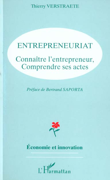 Thierry Verstraete ENTREPRENEURIAT