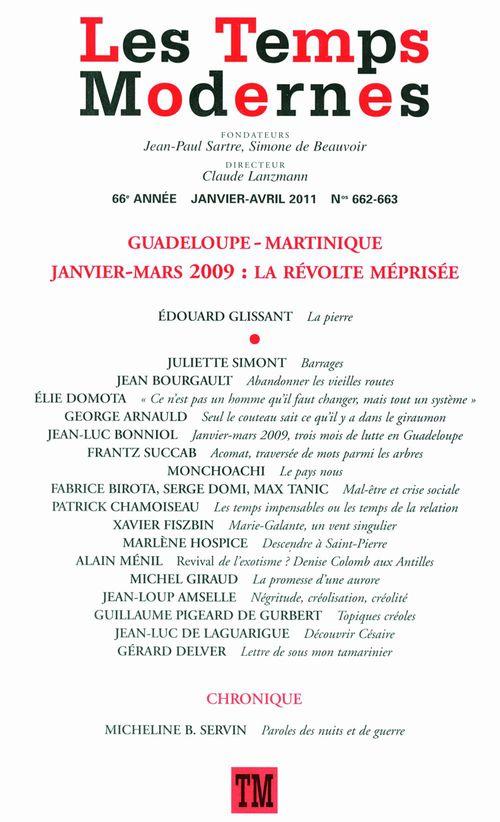 Les Temps Modernes n° 662-663 (Janvier - avril 2011)