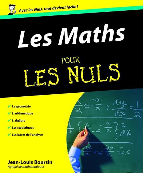 Jean-Louis BOURSIN Les Maths Pour les Nuls