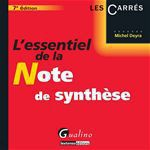 L'essentiel de la note de synth�se - 7e �dition