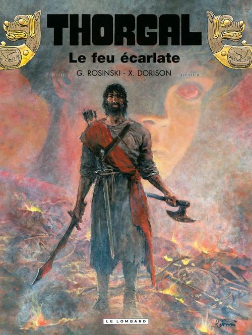 Thorgal - Tome 35 - Le feu écarlate