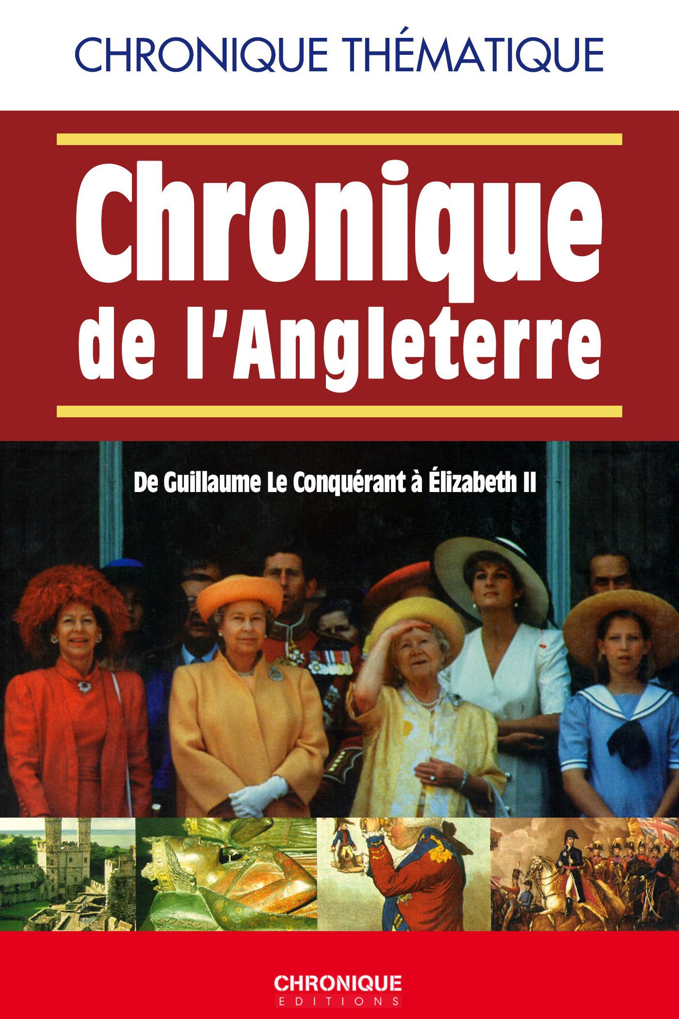 Éditions Chronique Chronique de l'Angleterre