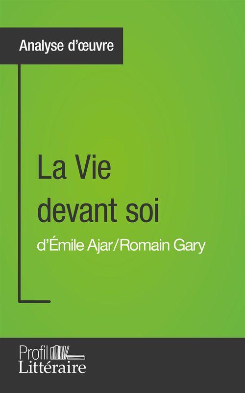 Karolin Brohee La Vie devant soi de Romain Gary (Analyse approfondie)