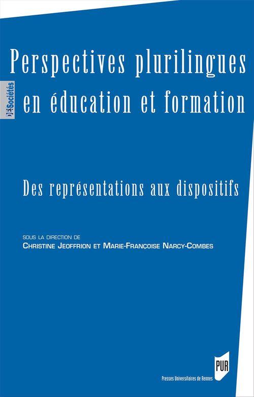 Christine Jeoffrion Perspectives plurilingues en éducation et formation