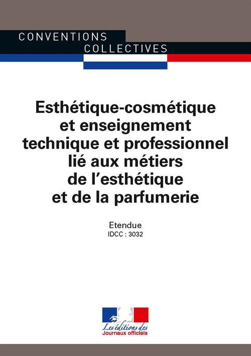 Esthétique-cosmétique et enseignement technique et professionnel lié aux métiers de l'esthétique et de la parfumerie