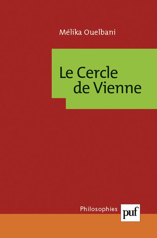 Mélika Ouelbani Le cercle de Vienne