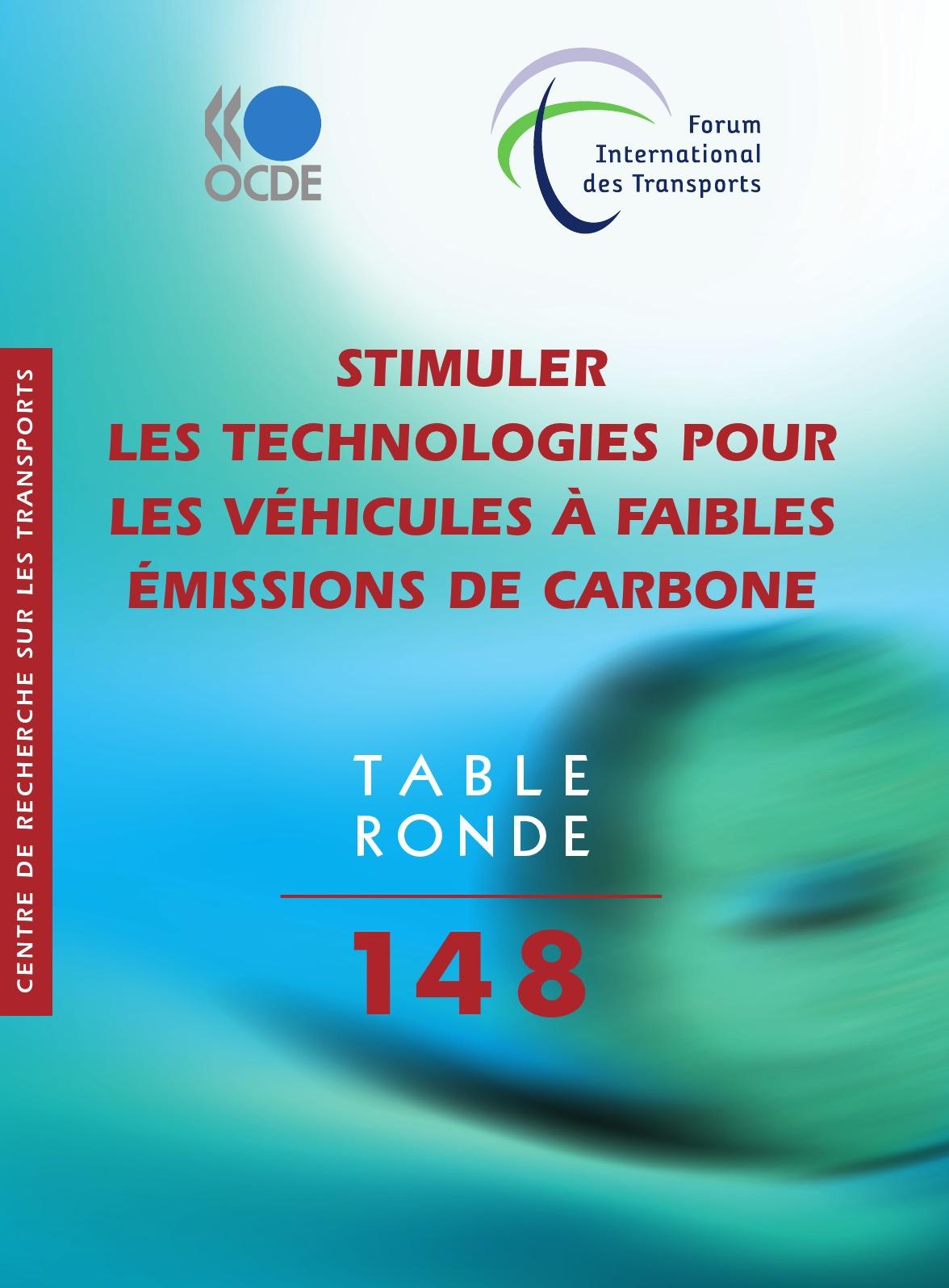 Collectif Stimuler les technologies pour les véhicules à faibles émissions de carbone