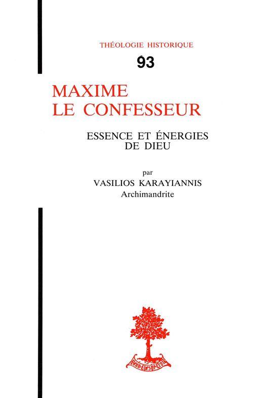 Karayianni Maxime Le Confesseur