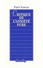 Critique de l'Anxi�t� pure