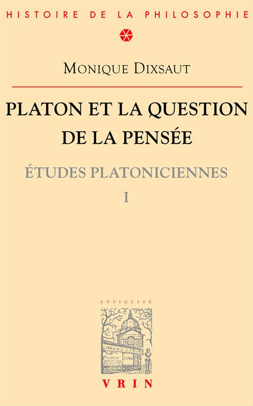 Platon et la question de la pensée