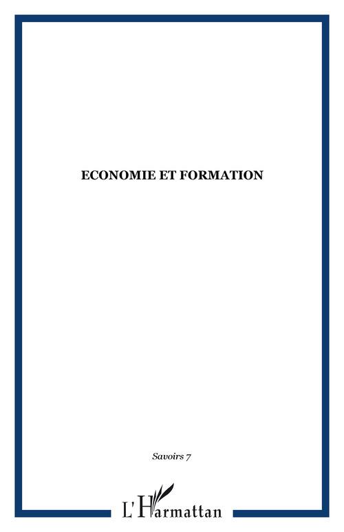 Revue Savoirs Économie et formation