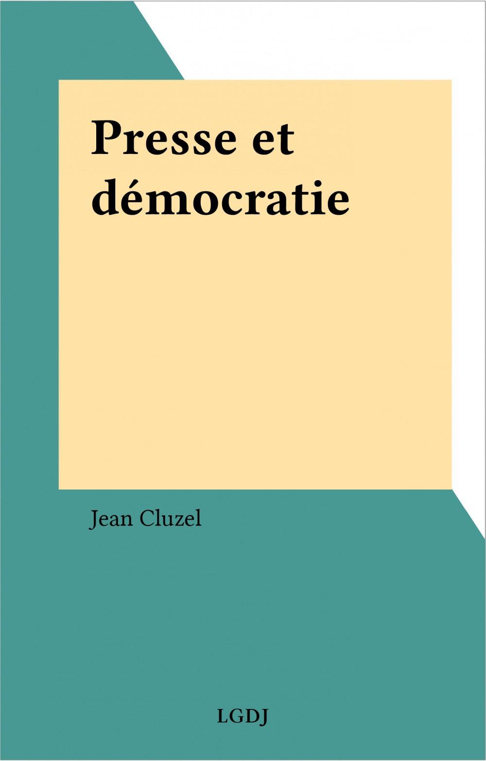 Presse et démocratie