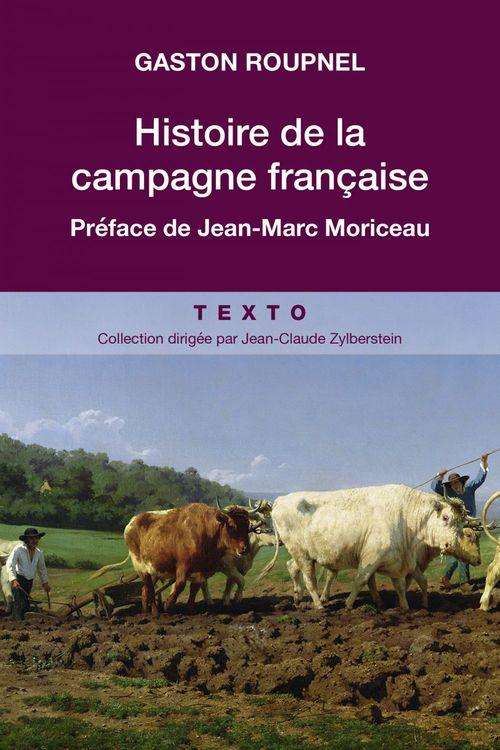 Gaston ROUPNEL Histoire de la campagne Française