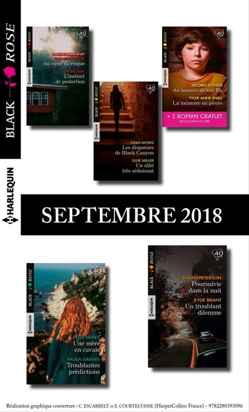 Collectif 10 romans Black Rose + 1 gratuit (nº 495 à 499 - Septembre 2018)