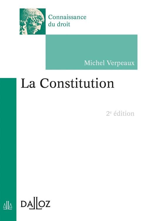Michel Verpeaux La Constitution