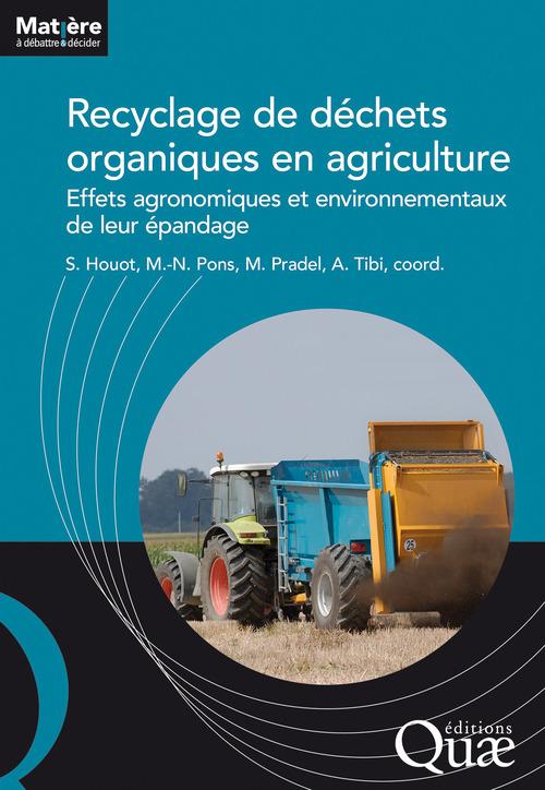 Sabine Houot Recyclage de déchets organiques en agriculture