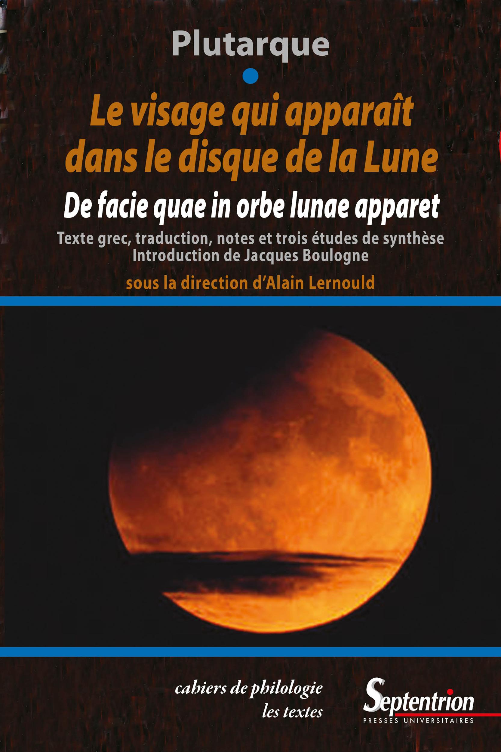 Alain Lernould Le visage qui apparaît dans le disque de la lune