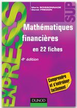 Daniel Fredon Mathématiques financières - 4ème édition - en 22 fiches