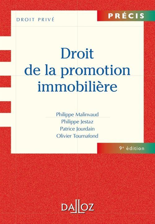 Philippe Malinvaud Droit de la promotion immobilière