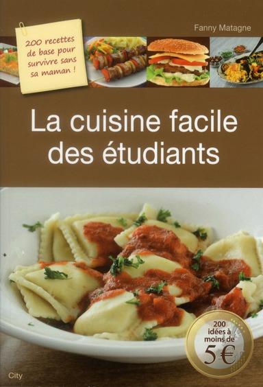 Fanny Matagne La cuisine facile des étudiants