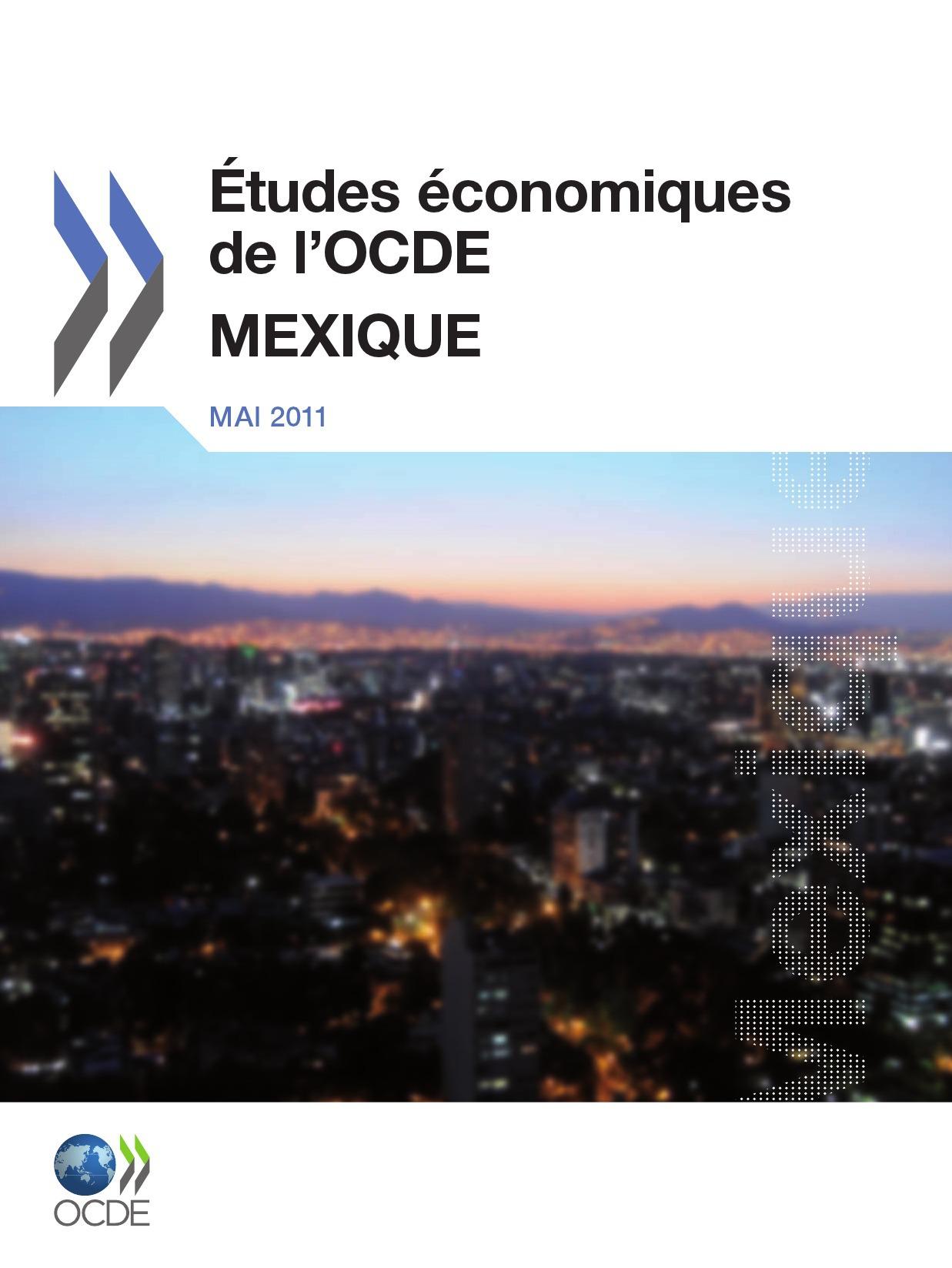 Collectif Études économiques de l'OCDE : Mexique 2011