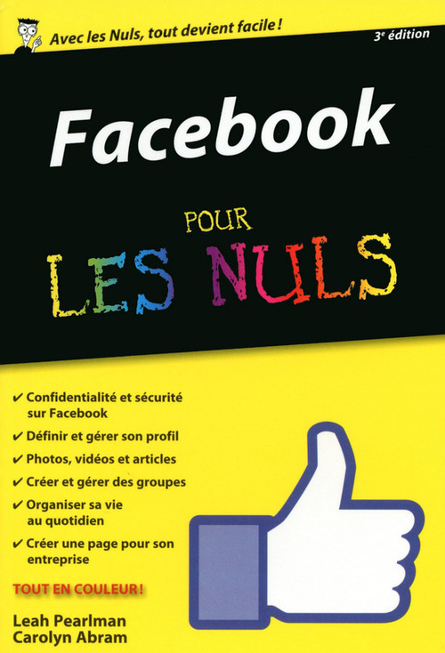 Carolyn ABRAM Facebook pour les Nuls, édition poche, nouvelle édition