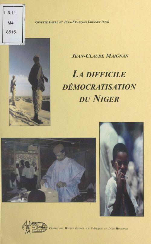La difficile démocratisation du Niger