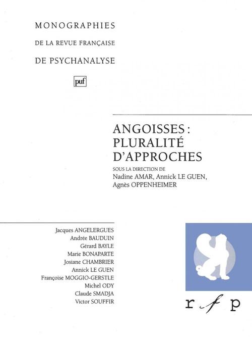 Annick le Guen Angoisses : pluralité d'approches. Volume 2