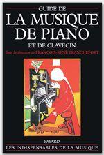 François-René Tranchefort Guide de la musique de piano et de clavecin