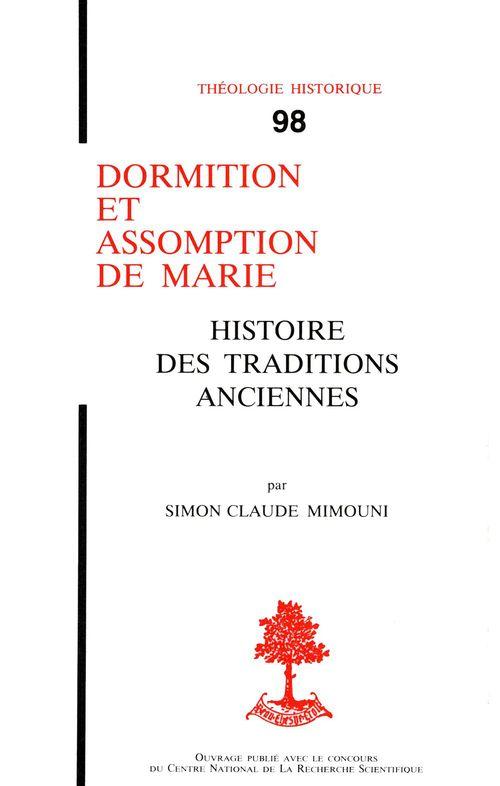 Dormition Et Assomption De Marie