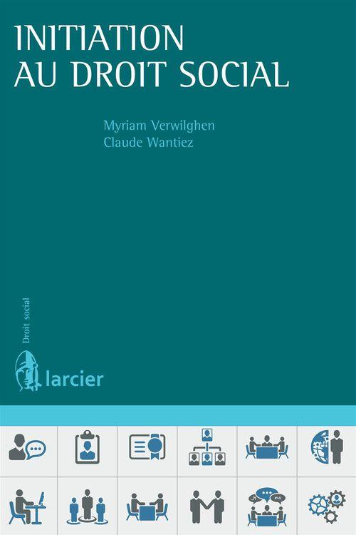 Myriam Verwilghen Initiation au droit social
