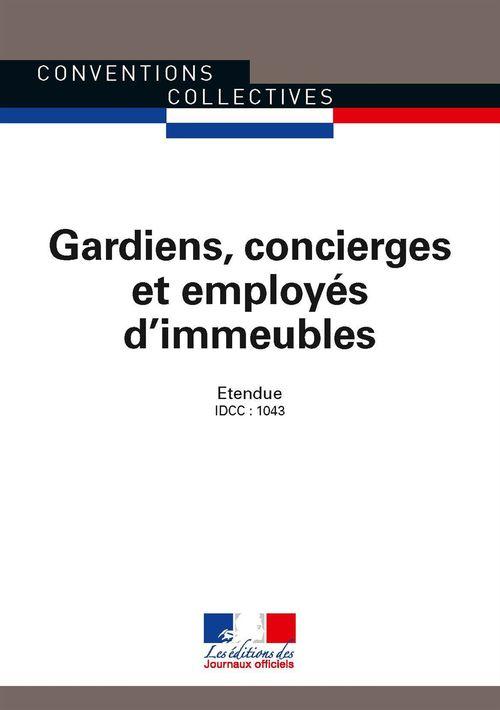 Gardiens, concierges et employés d'immeubles