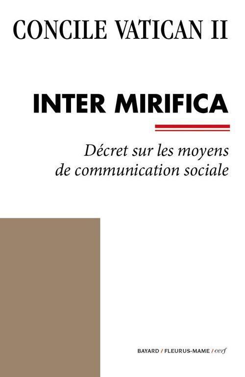Concile Vatican II Inter Mirifica