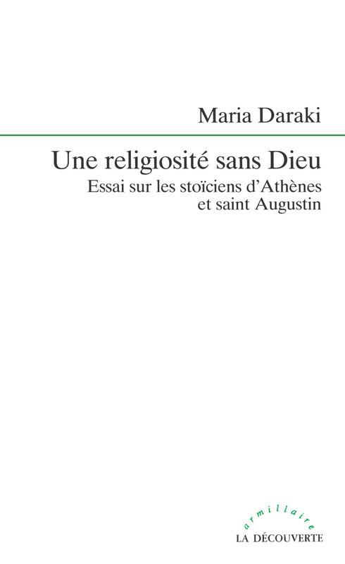 Maria DARAKI Une religiosité sans Dieu