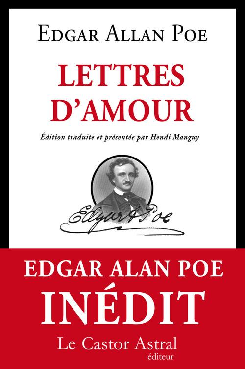 Edgar Allan Poe Lettres d'amour