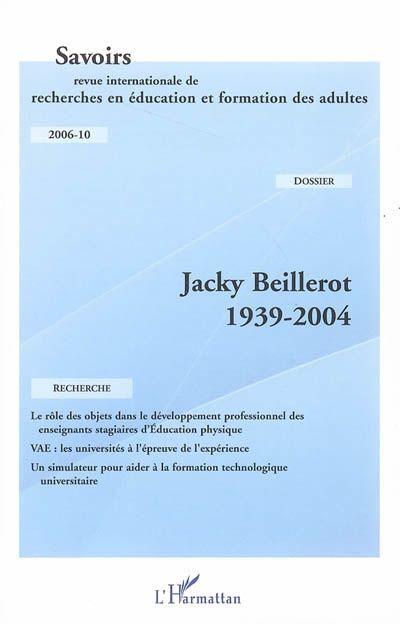 Jacky Beillerot (1939-2004)
