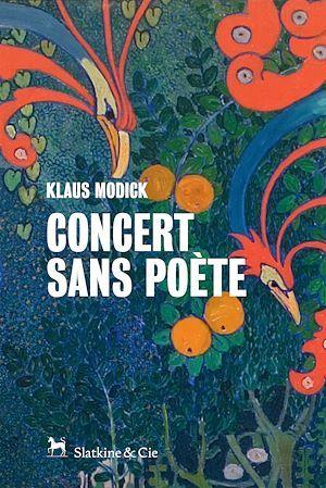 Klaus Modick Concert sans poète