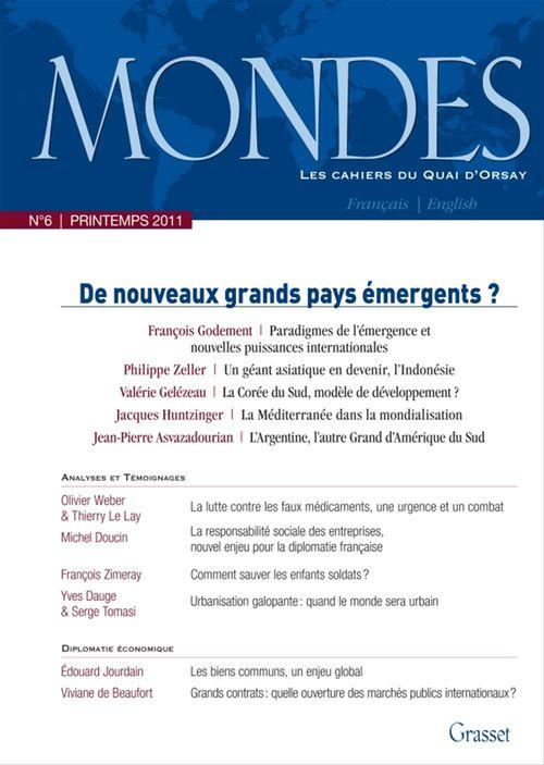 Mondes nº6 - Les cahiers du Quai d'Orsay